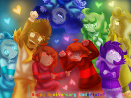 Happy Anniversary Undertale! (TSWFBY) by P-RiSe