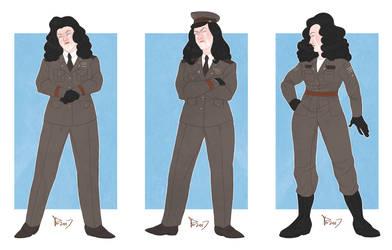 Winter's Howl uniforms by PrincessD-Bag