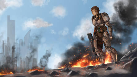 Soldier Fallout by MythosPictures