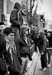 Riot for Education, Chile. by Xvant
