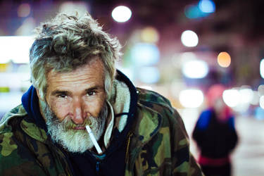 Photogenic Homeless by Xvant