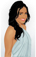 Christina Milian Vector 3 by mojaam