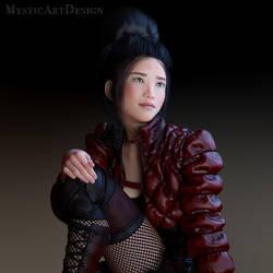 Close up Amy Aimei by Mysticartdesign
