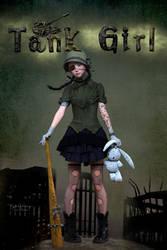 Tank Girl by Mysticartdesign