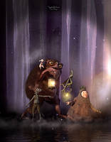 Fairy Woodland by Mysticartdesign