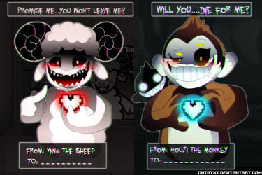Can You Escape Love and Fate Valentines Day by Chibixi