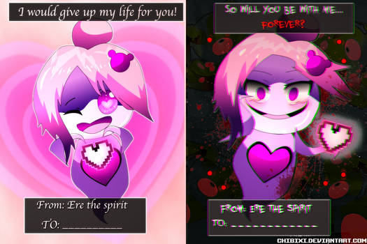 Ere Valentines Day Card - Can You Escape Fate OC by Chibixi