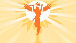 Human Celestia raising the sun by Salahir