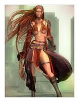 Aerin: Elven Fighter by Lokai2000