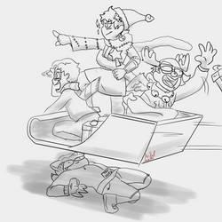 draw ze squad with friends by AnfelMeva