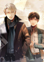 Not Obvious - It's Victuri Sherlock AU by Nagifry