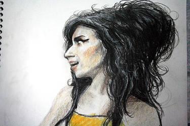 Amy Winehouse by brierwashington