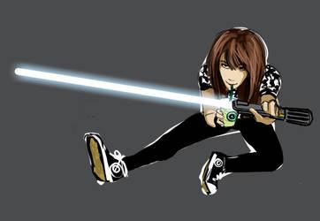Jedi Moi by brierwashington