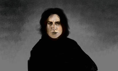 Severus Snape Progress by brierwashington