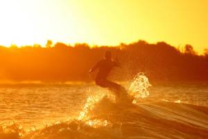 Golden Surfer by Kick-Artist