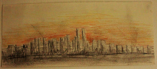 Sunset City... by Kick-Artist