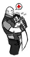 Medic Hugs by distasty