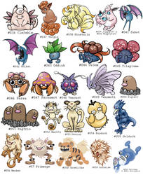 Pokemon Project 2 by distasty