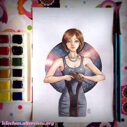Leonore Shepard by lelechan16