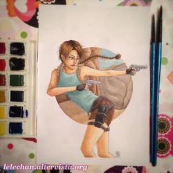 Lara Croft by lelechan16