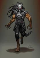 The Black Panther Redux Alt Color by Luis-Guerrero