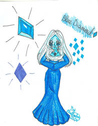 Blue diamond fanart by SHADOWFAN2345