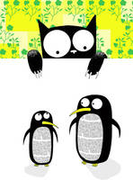 Paper Penguins by scratchproductions