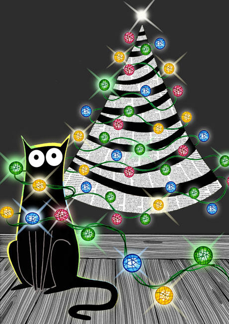 Paper Christmas Tree by scratchproductions
