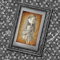 The Girl in the Photograph by scratchproductions
