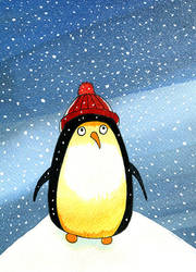 Christmas Penguin by scratchproductions