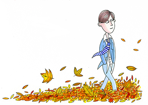 Walking Through Leaves by scratchproductions