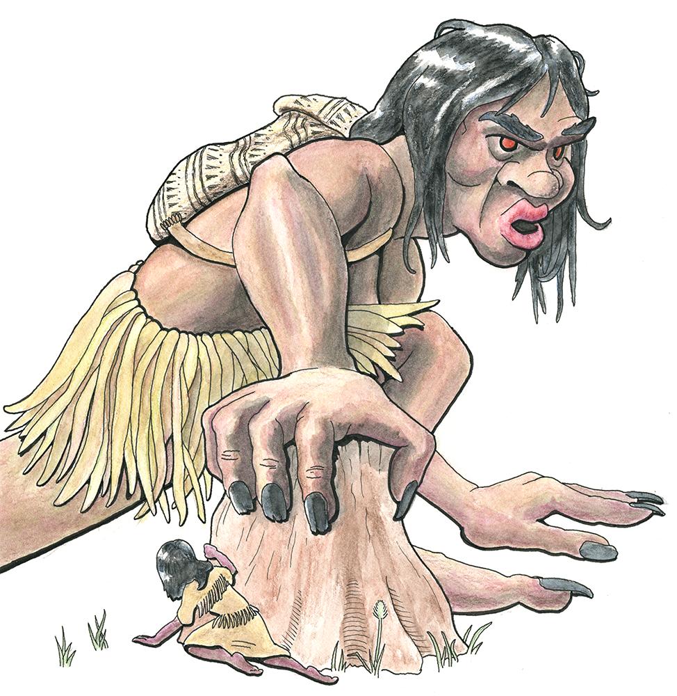 Tsonoqua by sequentialscott