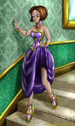 Miranda's Restrictive Formal Evening Wear by Plasma-dragon