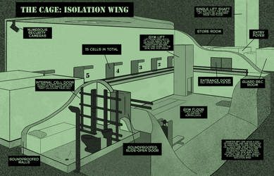 The Cage: Isolation wing by Plasma-dragon
