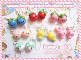 Super Sweet Earrings:: 2 by MoogleGurl