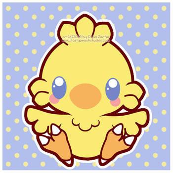 Baby Chocobo by MoogleGurl