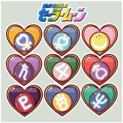 Sailor Senshi Heart Vector by MoogleGurl