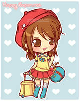 Happy Japan: Yuki-chan by MoogleGurl