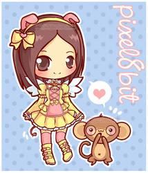 Monkey Love Plz? by MoogleGurl