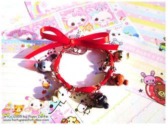 Kitten Bracelet by MoogleGurl