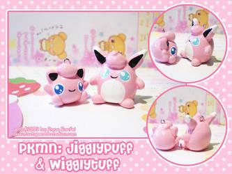 PKMN: Jigglypuff - Wigglytuff by MoogleGurl