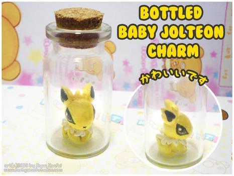 Bottled Baby Jolteon by MoogleGurl