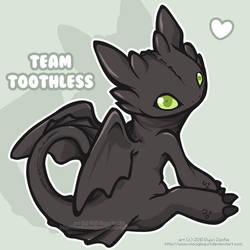 Team Toothless by MoogleGurl