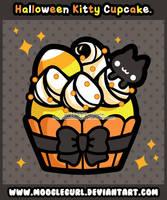 Halloween Cupcake by MoogleGurl