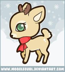 Little Reindeer by MoogleGurl