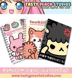 Notebooks by MoogleGurl