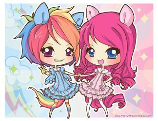 MLP: Rainbow Party Power by MoogleGurl