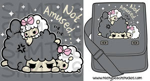 TPS: Grumpy Sheep bag by MoogleGurl