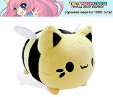 TPS: Bumble Bee Meowchi Plush by MoogleGurl