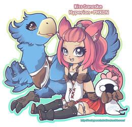 FFXIV Character - Riss Sanoske by MoogleGurl